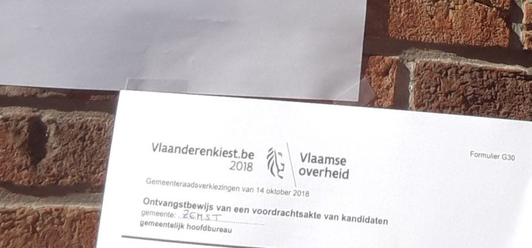 Vlam neemt voor de 5de maal deel aan de verkiezingen