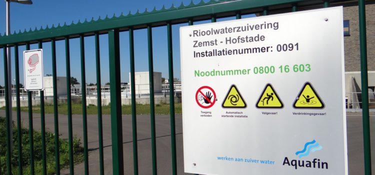 Stop de geluidsoverlast van het waterzuiveringsstation te Hofstade